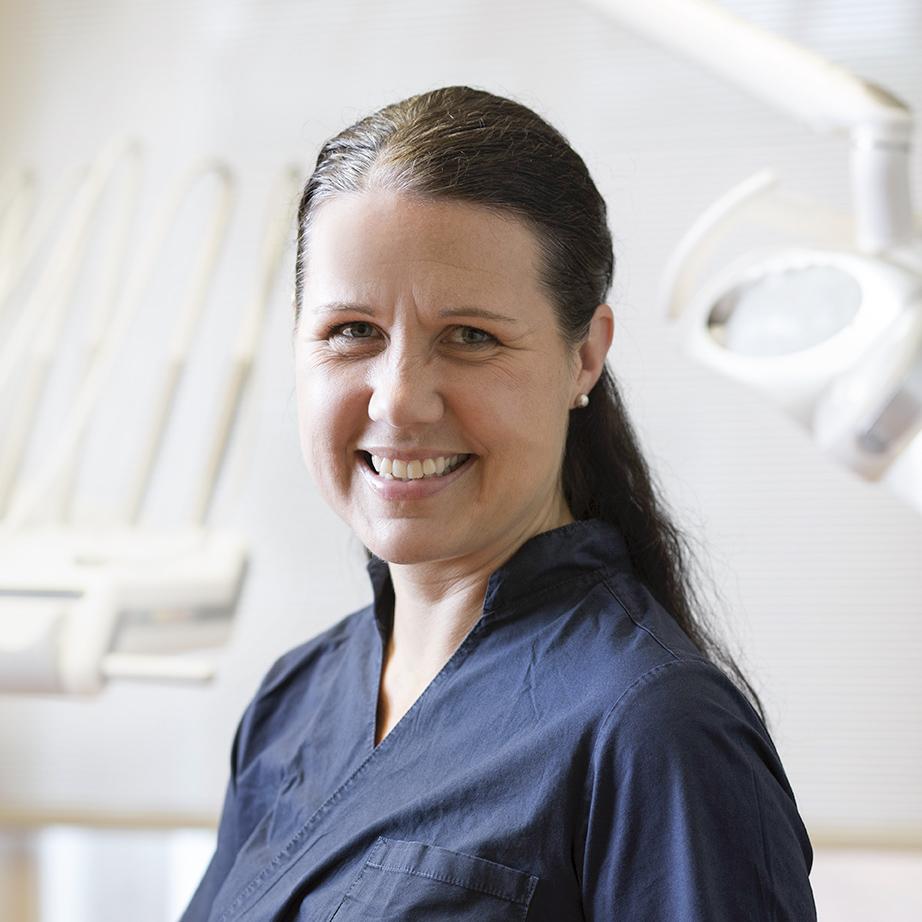 Tandläkare Ulrika Hallen